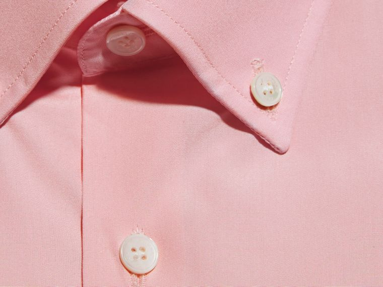 City pink Slim Fit Button-down Collar Cotton Poplin Shirt City Pink - cell image 1