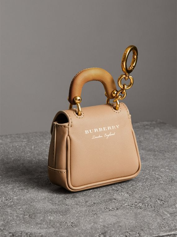 The DK88 Charm in Honey/ochre Yellow | Burberry - cell image 3