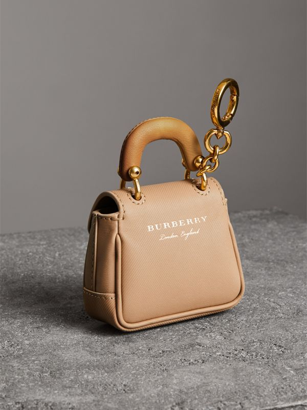 The DK88 Charm in Honey/ochre Yellow | Burberry United Kingdom - cell image 3