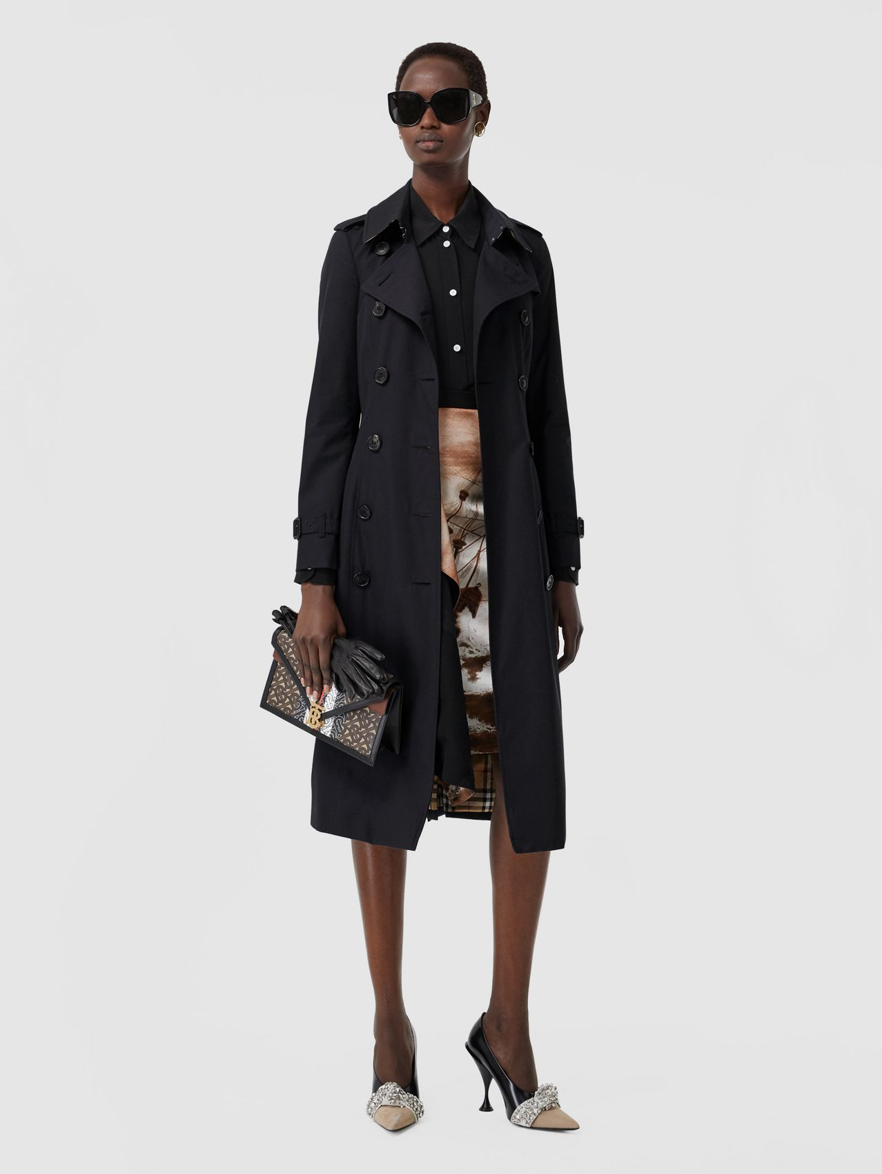 The Long Chelsea Heritage Trench Coat (Midnight)