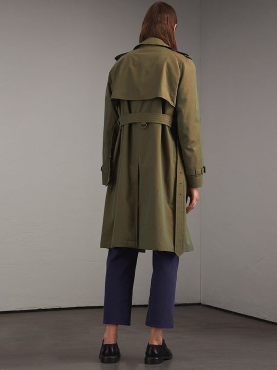 Oversize Storm Shield Tropical Gabardine Trench Coat - cell image 2
