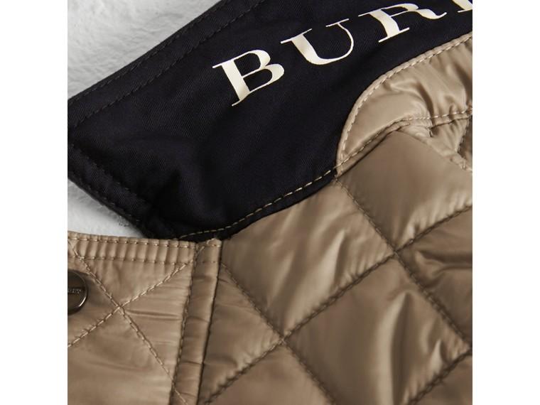 Veste légère matelassée avec capuche amovible (Vison) | Burberry Canada - cell image 1