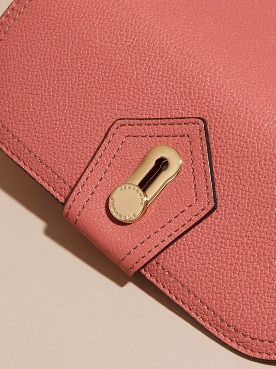 Copper pink Textured Leather Continental Wallet Copper Pink - cell image 2