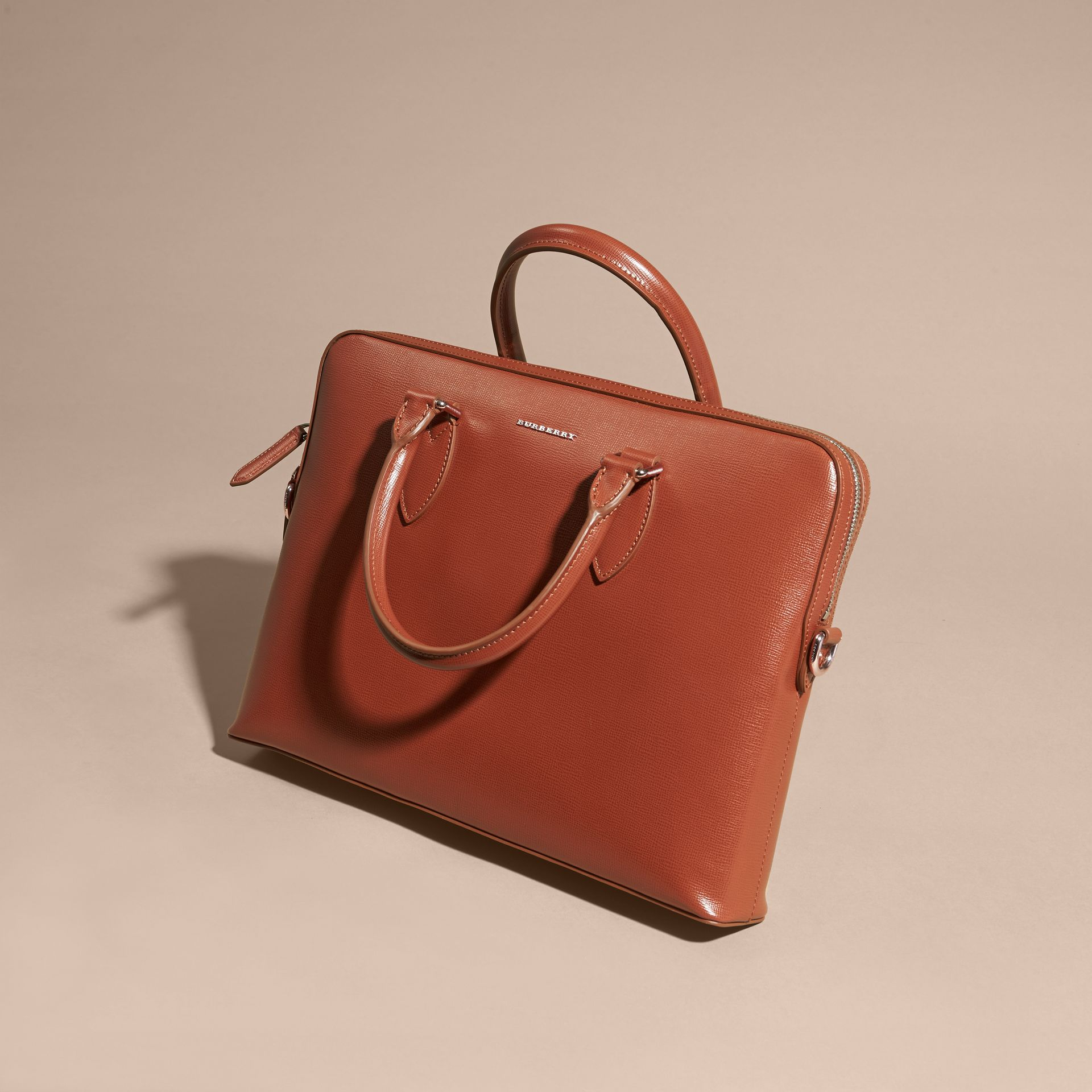 The Slim Barrow in London Leather in Burnt Sienna - gallery image 8
