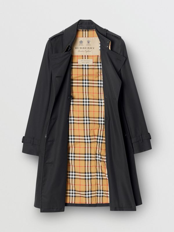 The Chelsea Heritage Trench Coat in Midnight - Women | Burberry United States - cell image 2