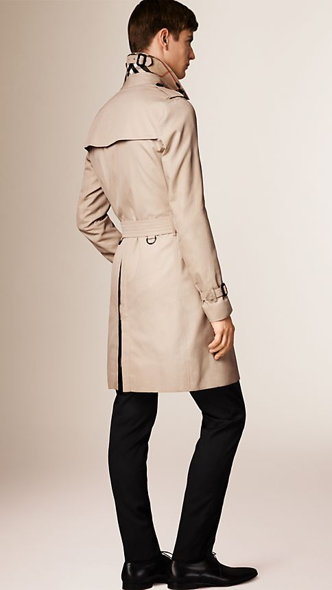Honey The Sandringham - Long Heritage Trench Coat - Image 2
