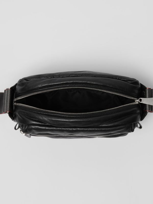 EKD Nappa Leather Crossbody Bag in Black - Men | Burberry United Kingdom - cell image 3