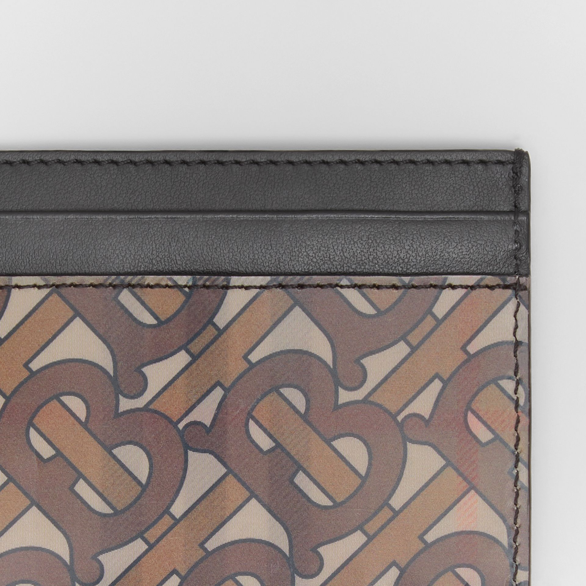 3D Print Card Case in Archive Beige - Men | Burberry Australia - gallery image 1