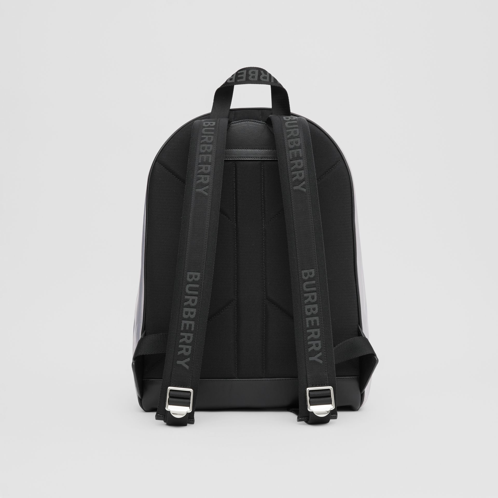 Horseferry Print ECONYL® Backpack in Cloud Grey | Burberry United States - gallery image 9