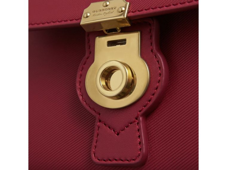 The Mini DK88 Top Handle Bag in Antique Red - Women | Burberry - cell image 1