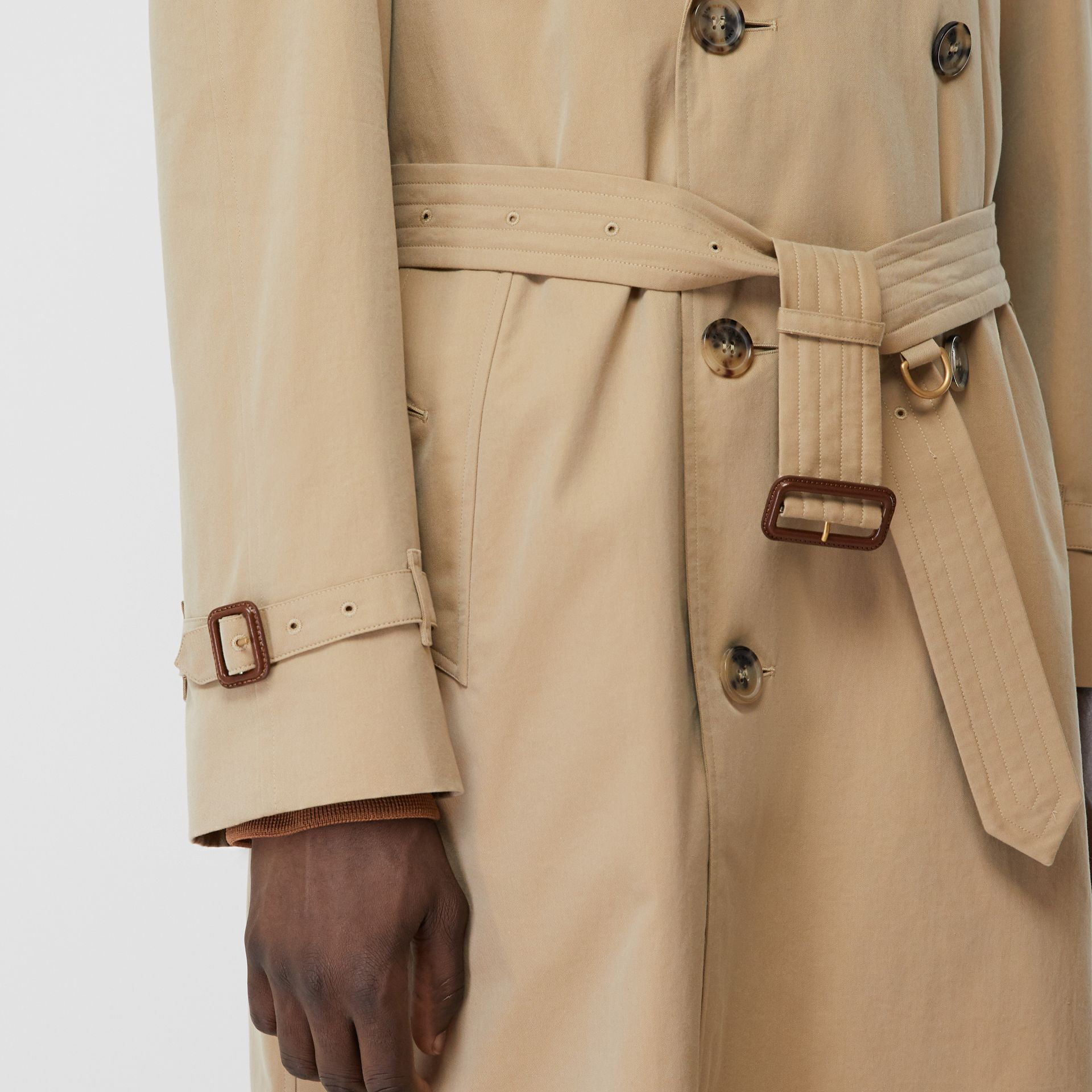 The Westminster Heritage Trench Coat in Honey - Men | Burberry - gallery image 4
