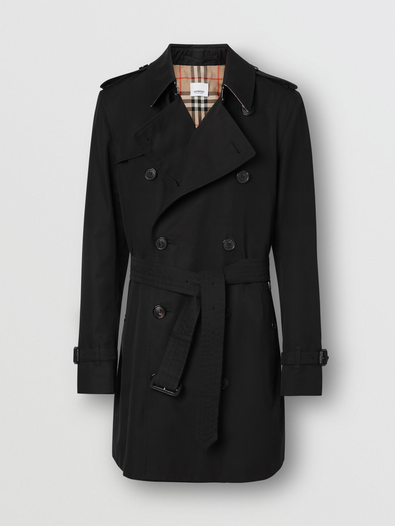 Trench coat corto Wimbledon (Nero)