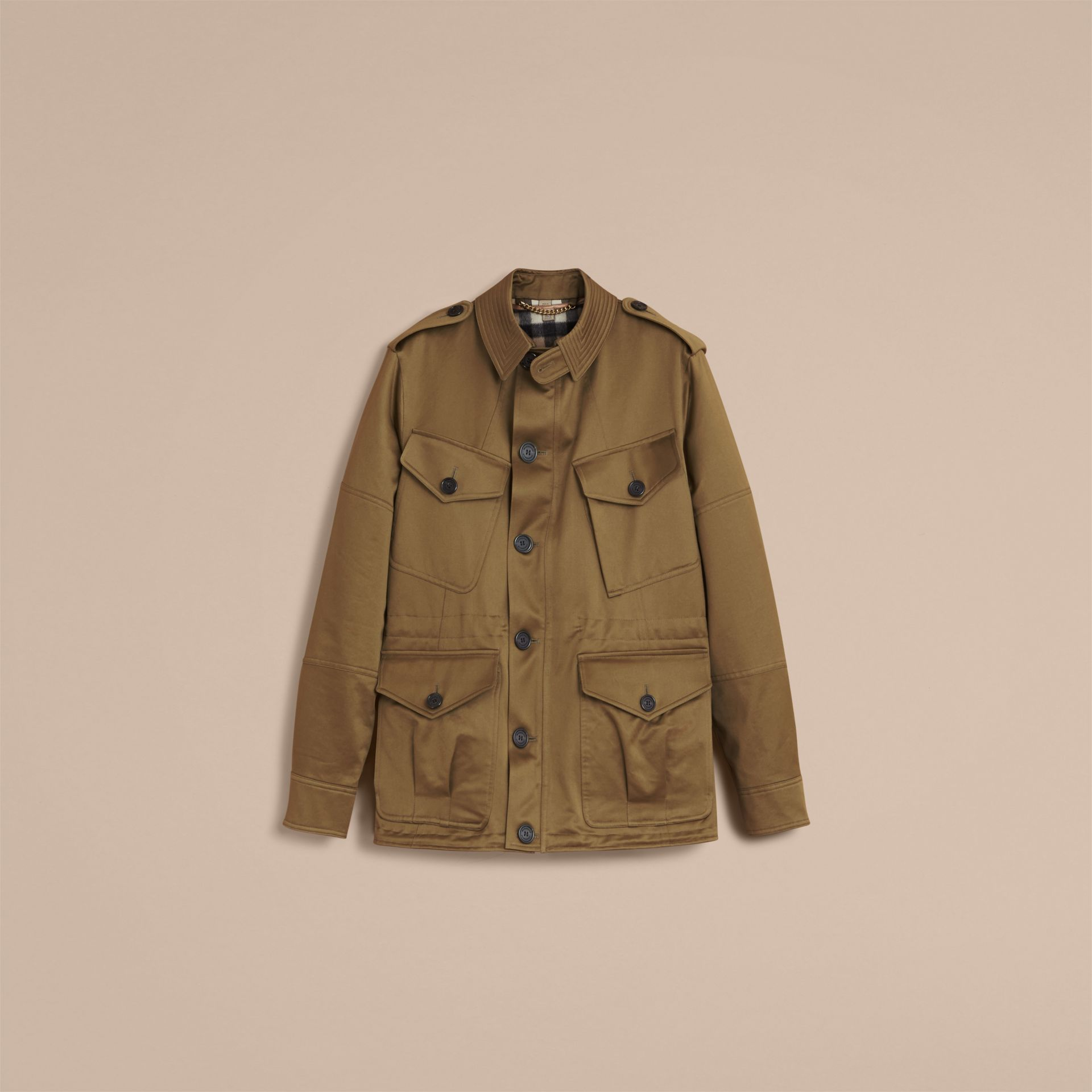 Cotton Field Jacket with Detachable Warmer - gallery image 4