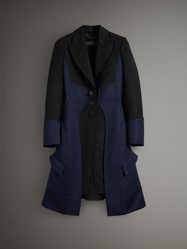 Wool Dressage Coat in Black - Women | Burberry - cell image 3