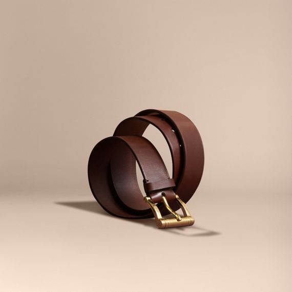 Bridle Leather Belt Tan