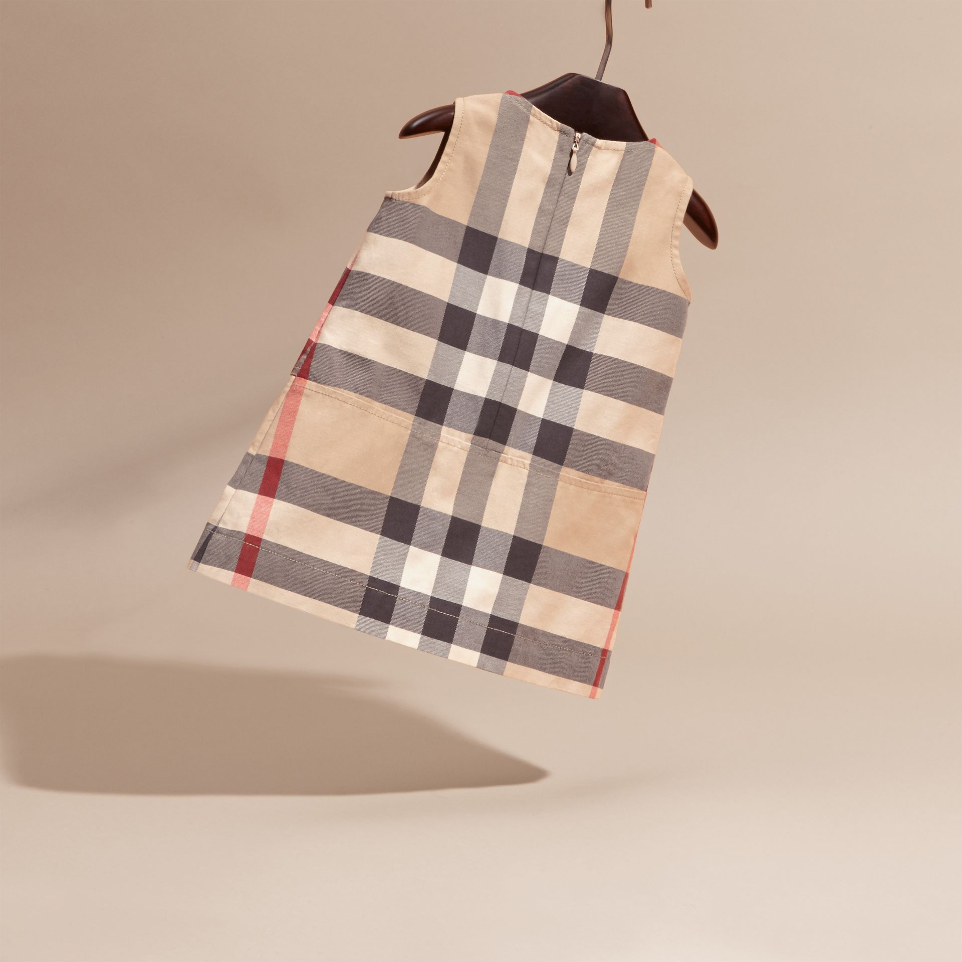 Washed Check Cotton Dress | Burberry - gallery image 4