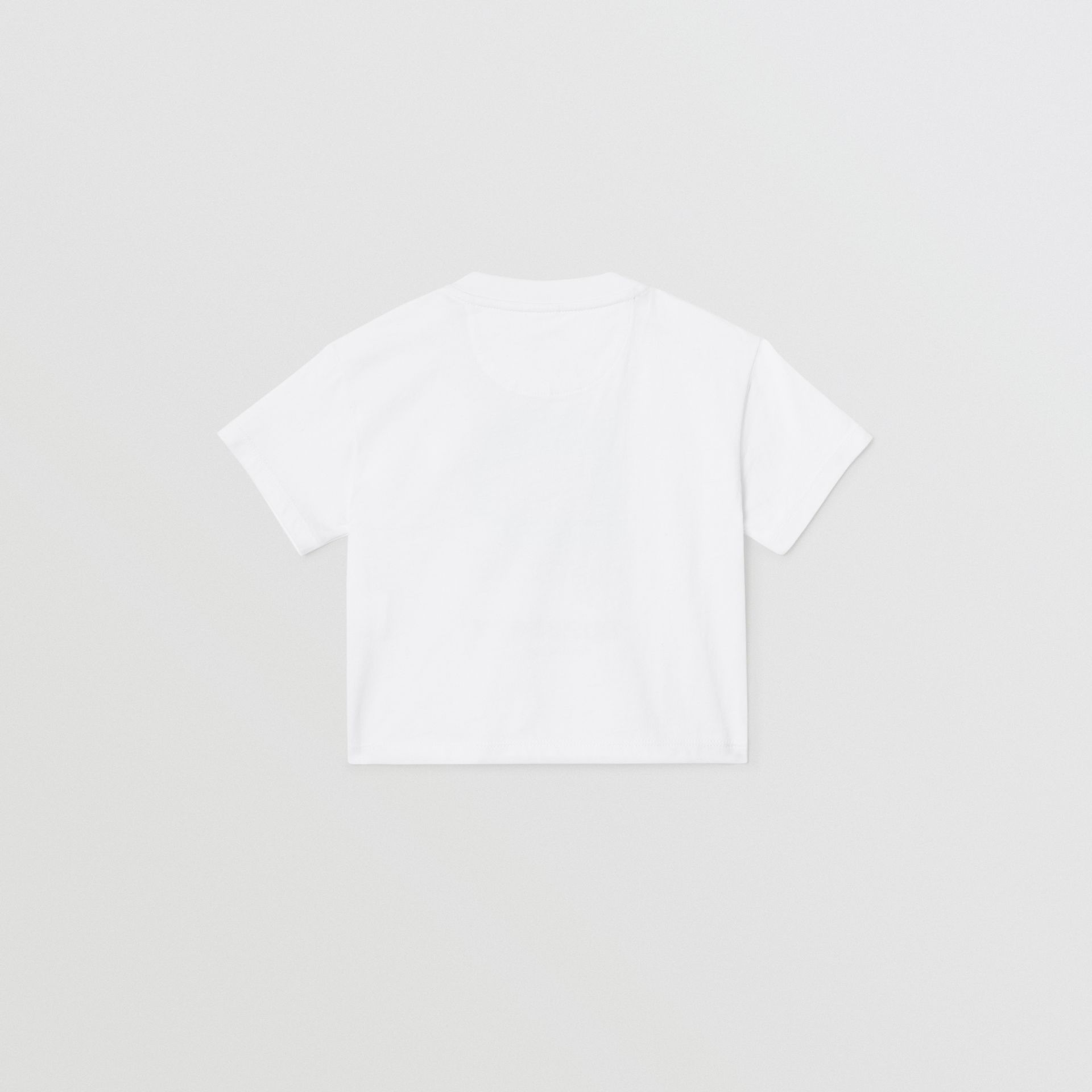 Polaroid Print Cotton T-shirt in White - Children | Burberry Australia - gallery image 3