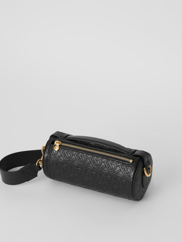 Sac The Barrel en cuir Monogram (Noir) - Femme | Burberry Canada - cell image 3
