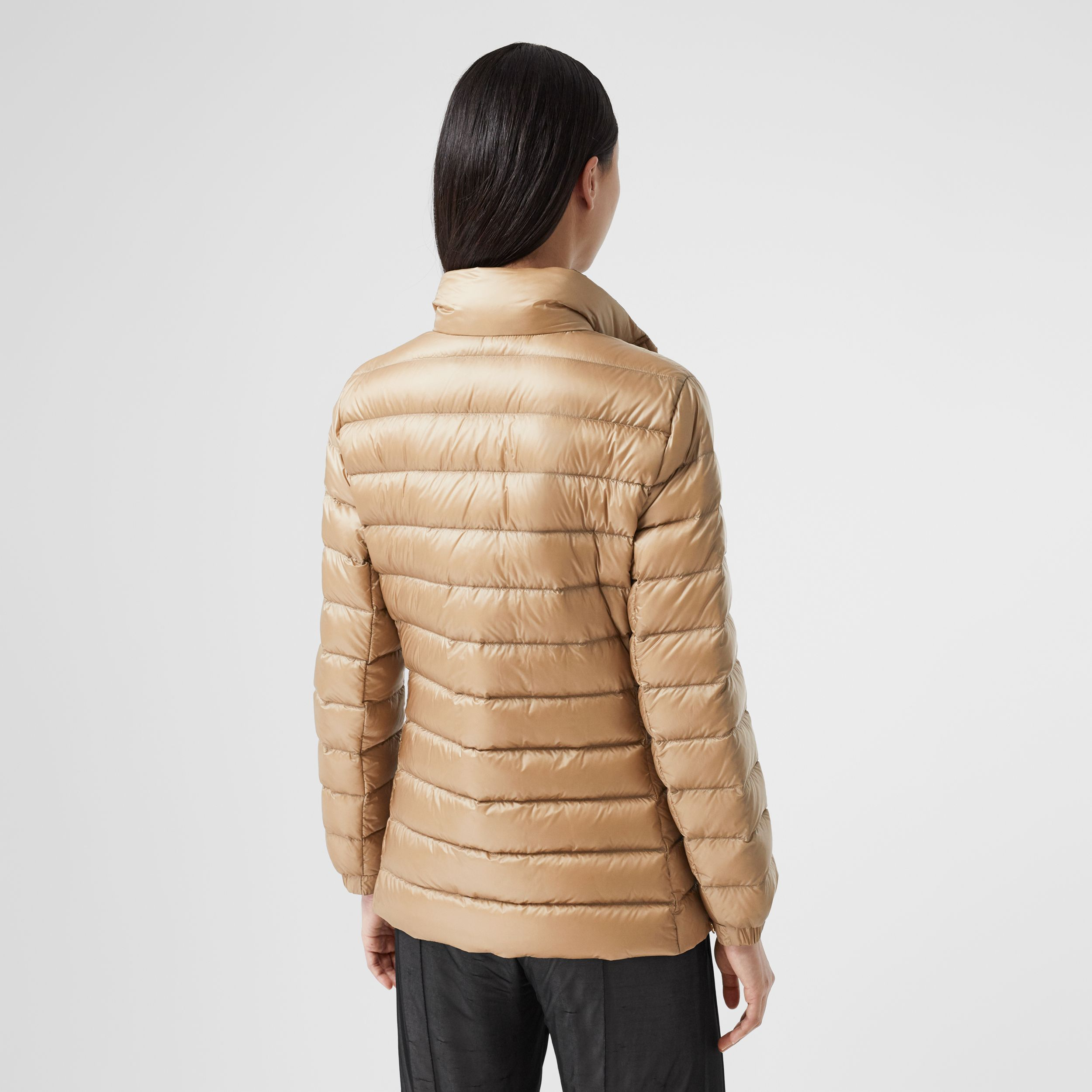 Monogram Print-lined Lightweight Puffer Jacket - Women | Burberry - 3