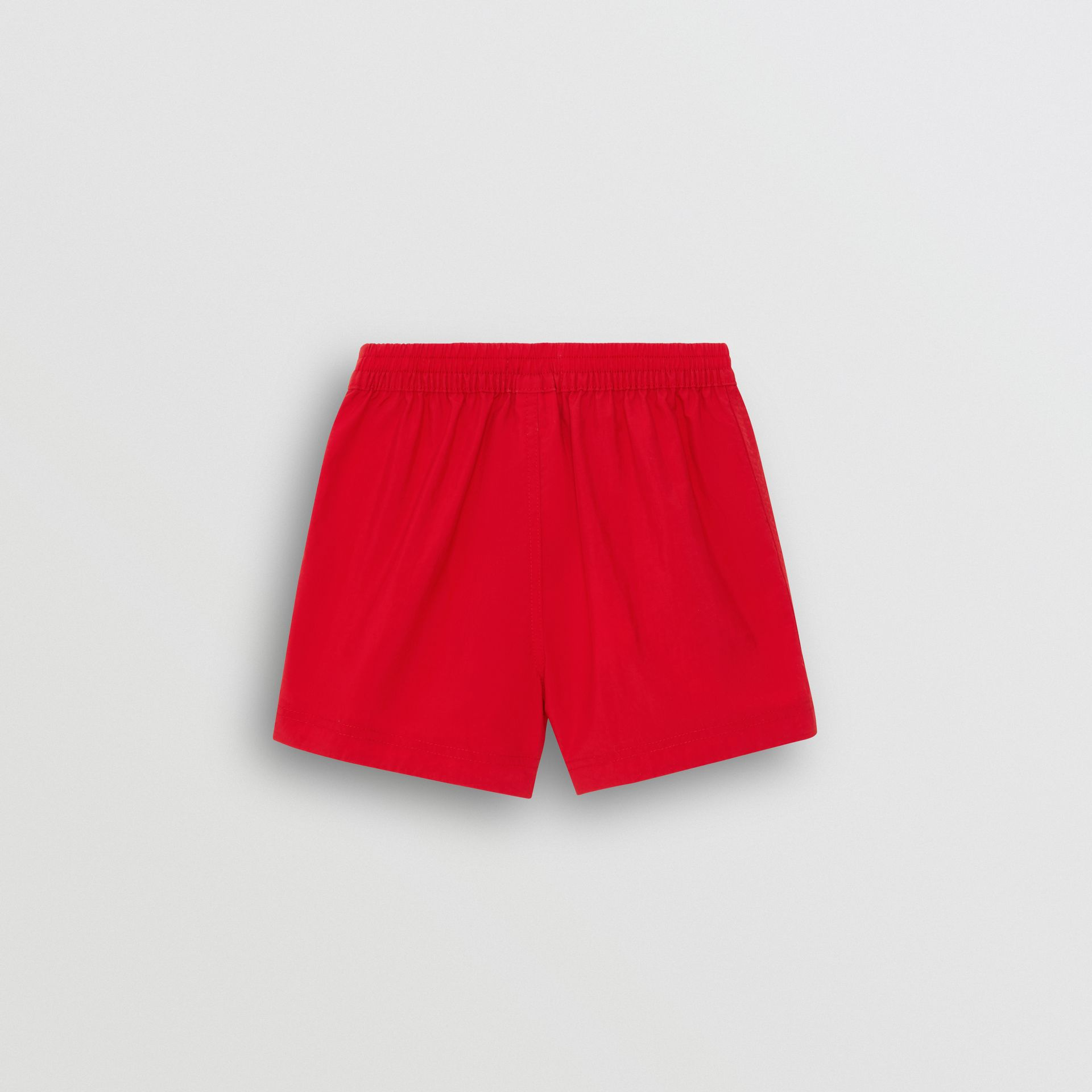 Drawcord Swim Shorts in Military Red - Children | Burberry - gallery image 3
