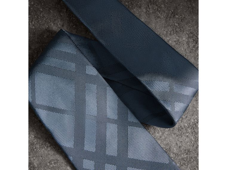 Classic Cut Check Silk Jacquard Tie in Light Blue - Men | Burberry Hong Kong - cell image 1