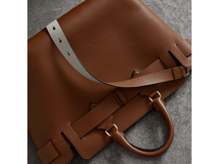 The Medium Leather Belt Bag in Tan - Women | Burberry - cell image 4