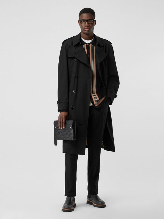 Trench coat Heritage Westminster (Negro)