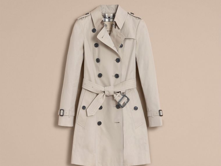 Stone Trench-coat Heritage mi-long The Chelsea Stone - cell image 4