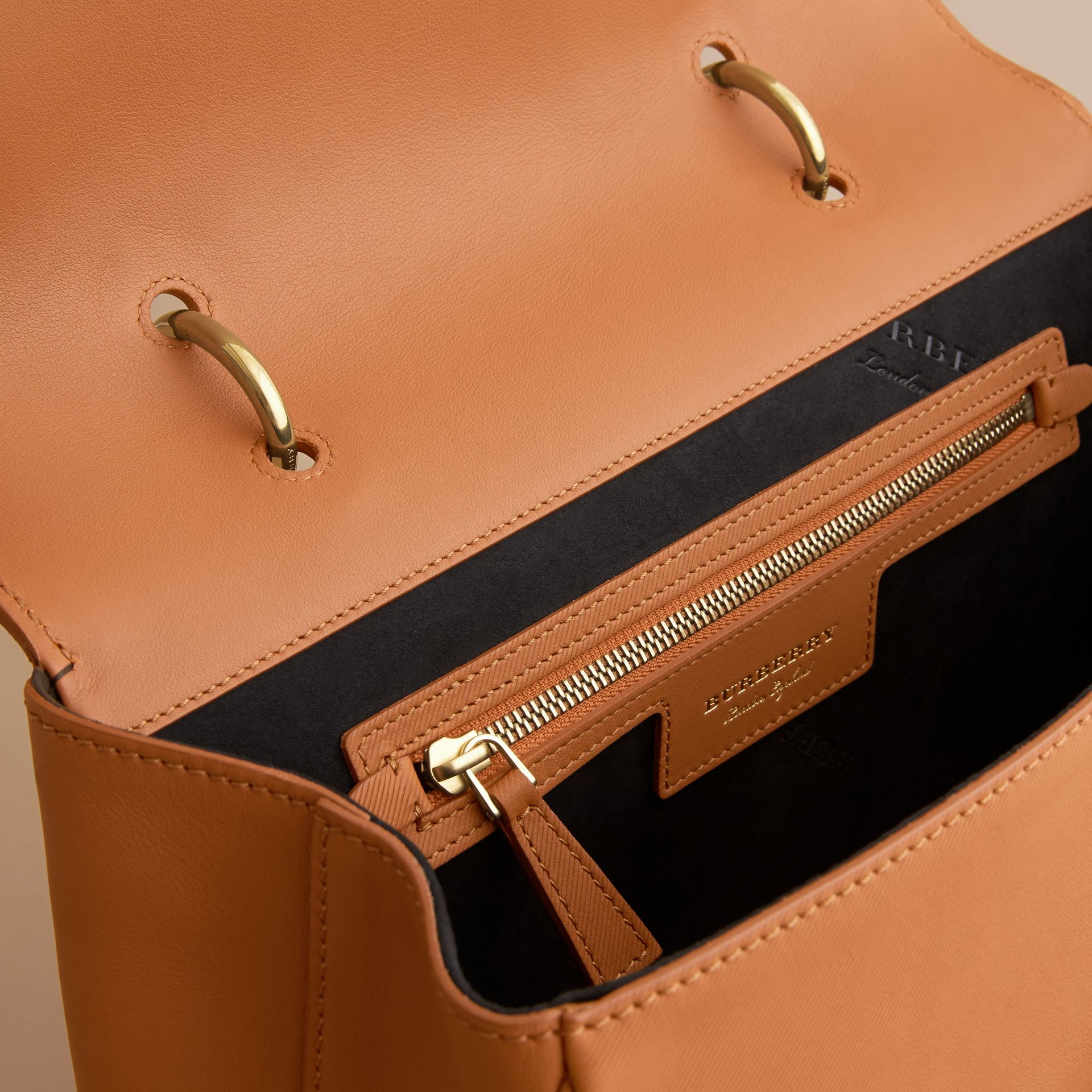 The Large DK88 Top Handle Bag Bright Toffee - gallery image 6
