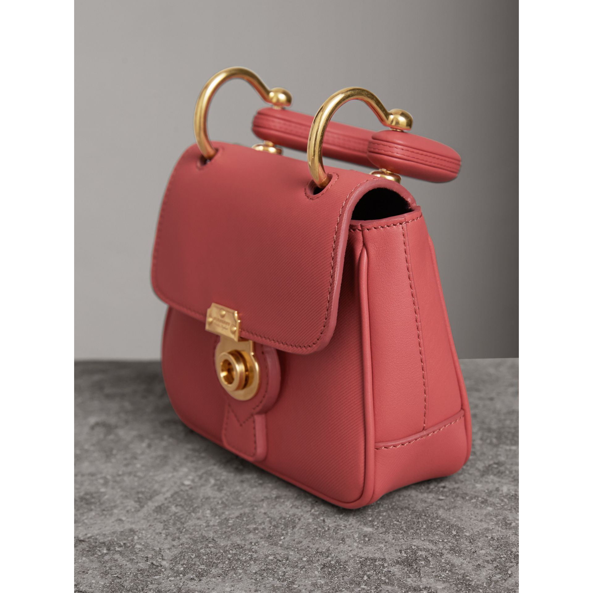 The Mini DK88 Top Handle Bag in Blossom Pink - Women | Burberry - gallery image 7