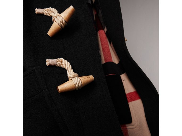 The Greenwich Duffle Coat in Black - Men | Burberry Australia - cell image 1