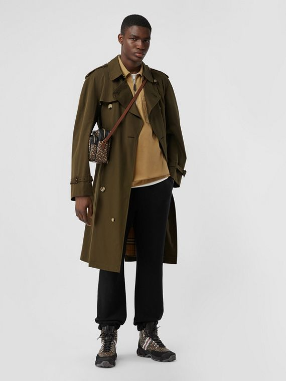 Trench coat Heritage The Westminster (Cachi Militare Scuro)