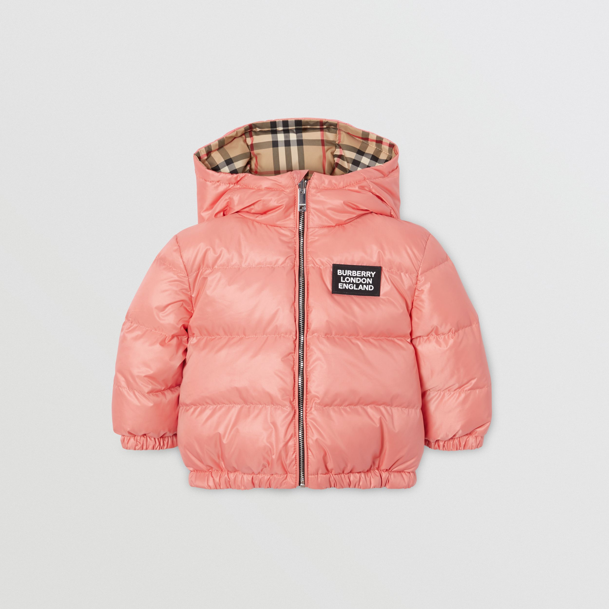 Reversible Vintage Check Puffer Jacket - Children | Burberry - 1