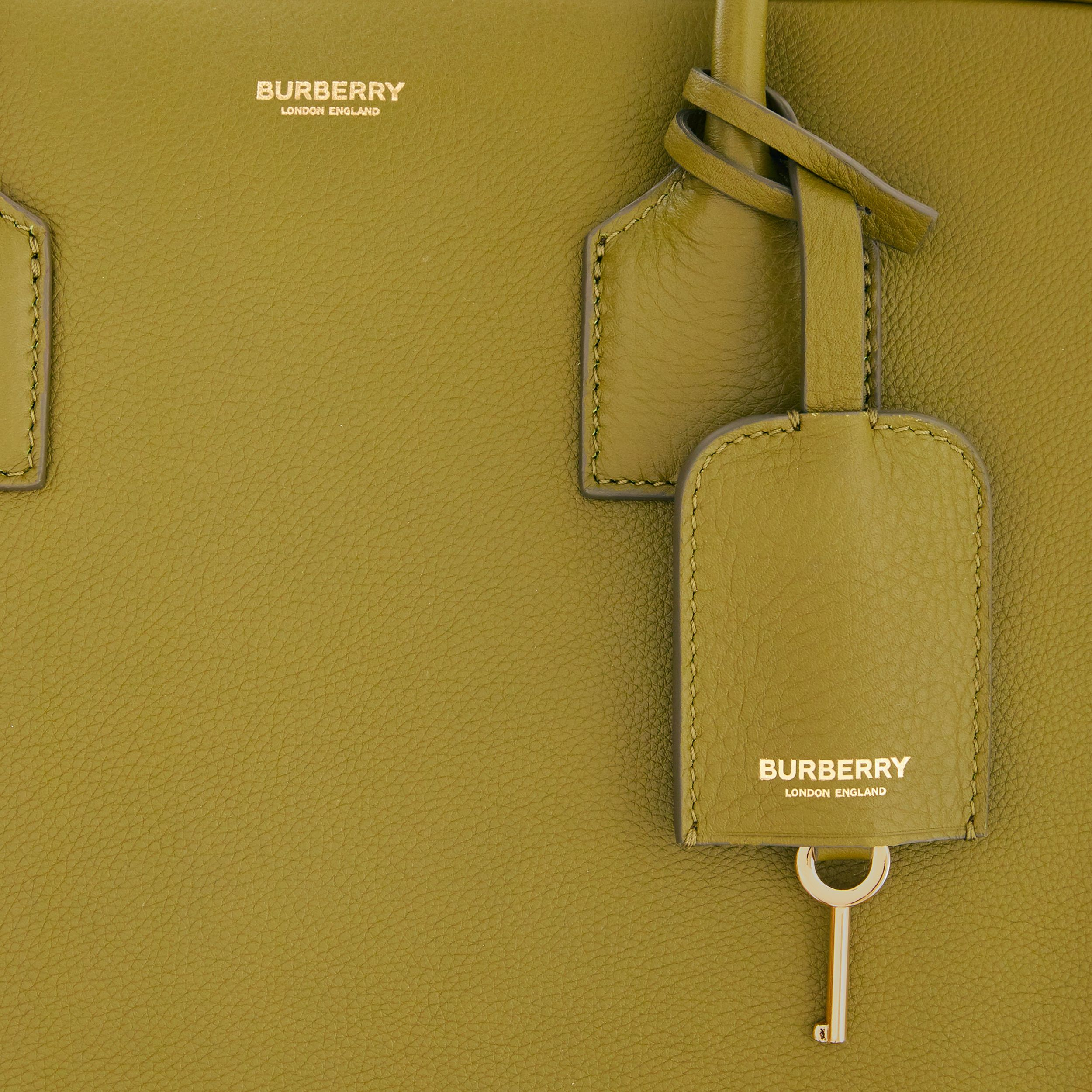 Large Leather Half Cube Bag in Juniper Green - Women | Burberry Hong Kong S.A.R. - 2