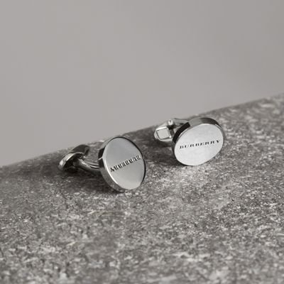 ENGRAVED BRONZE CUFFLINKS