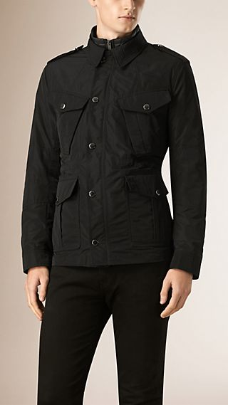 Lightweight Technical Field Jacket with Removable Warmer