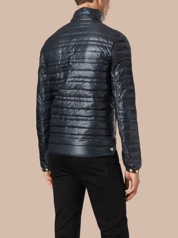 Lightweight Down-filled Jacket Navy - cell image 2