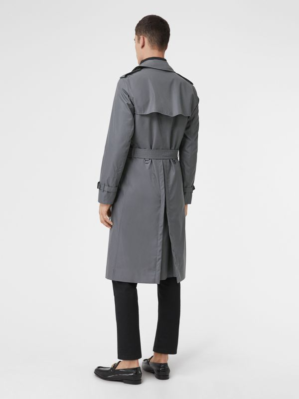 The Long Chelsea Heritage Trench Coat in Mid Grey - Men | Burberry Canada - cell image 2