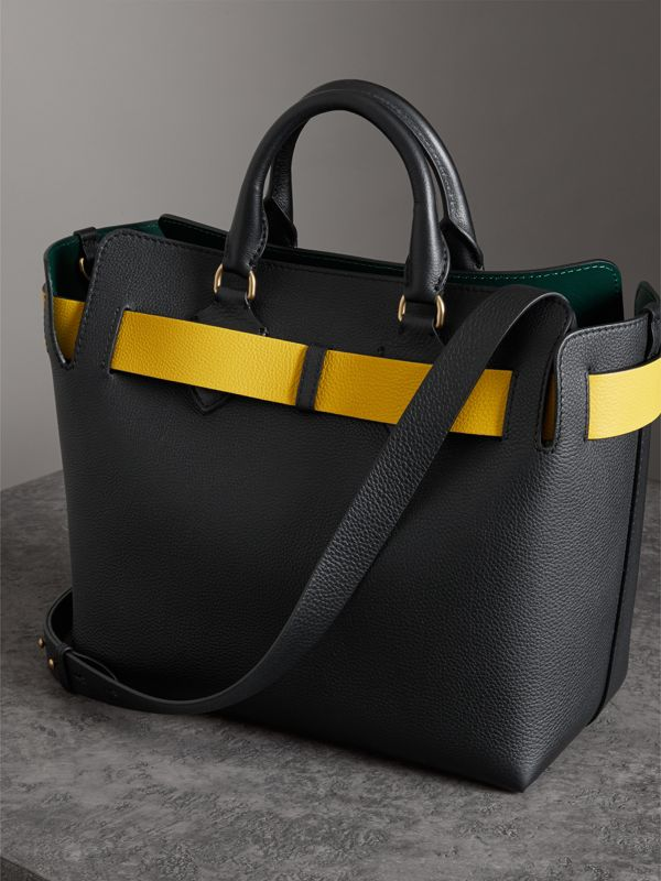The Medium Leather Belt Bag in Black - Women | Burberry - cell image 3