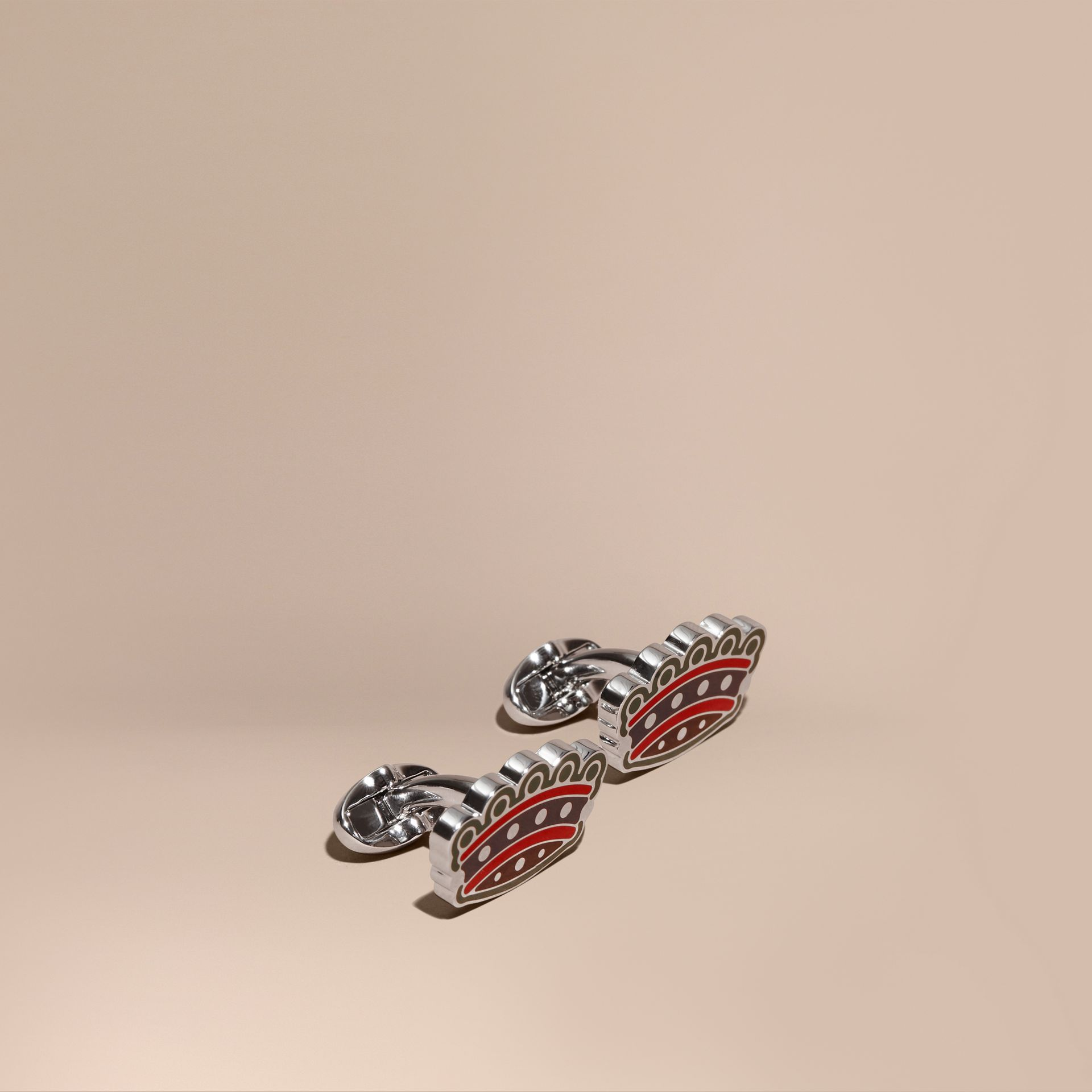 Crown Cufflinks - gallery image 1