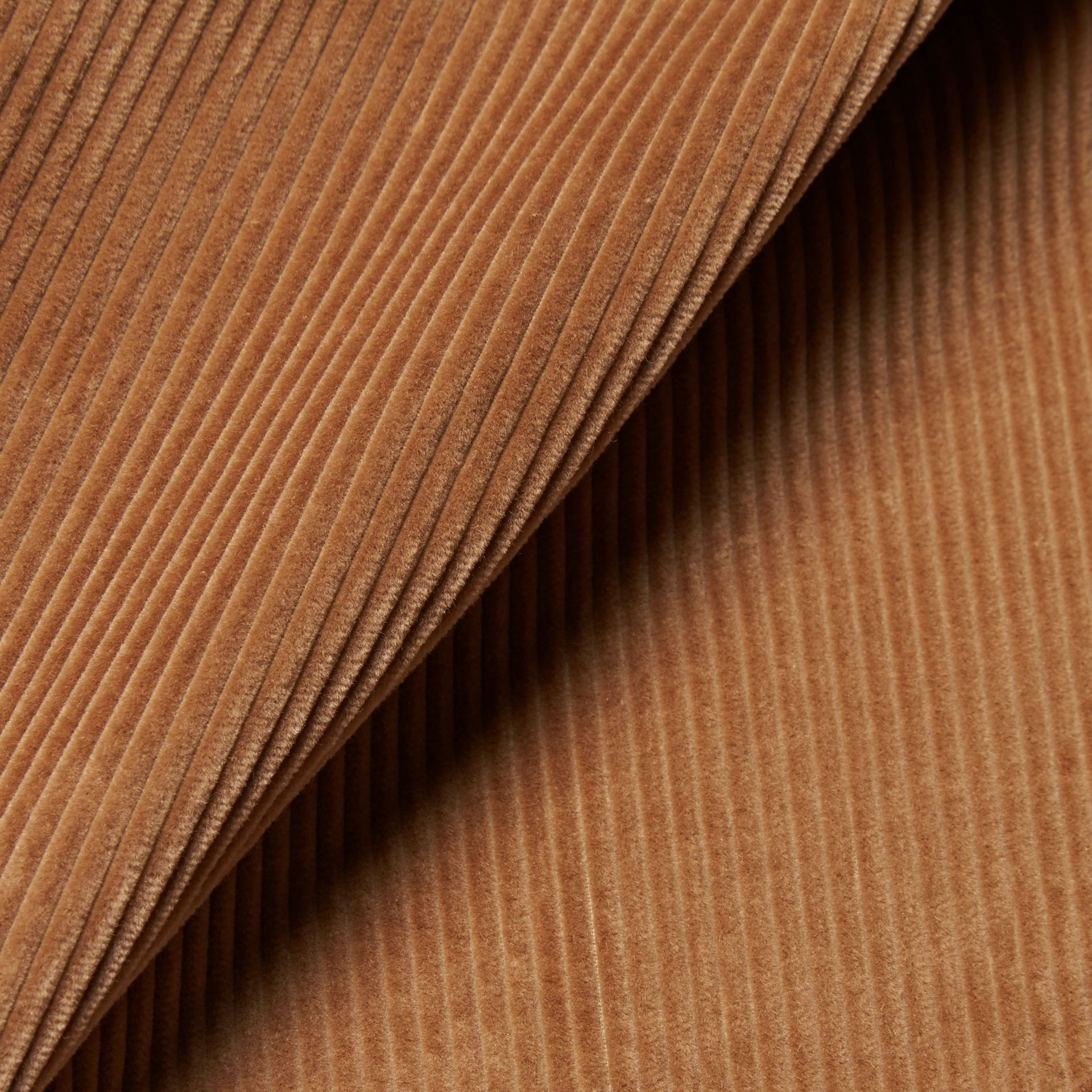 Camel Slim Fit Cotton Corduroy Trousers Camel - gallery image 2