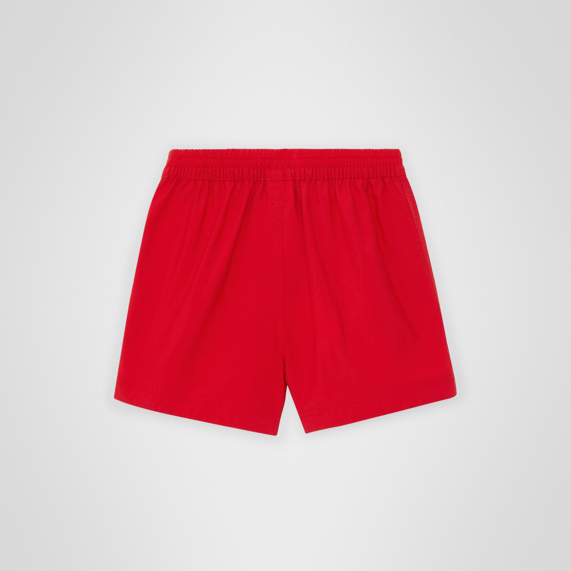 Drawcord Swim Shorts in Military Red - Children | Burberry Australia - gallery image 3