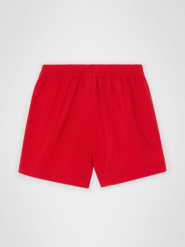Drawcord Swim Shorts in Military Red - Children | Burberry Australia - cell image 3