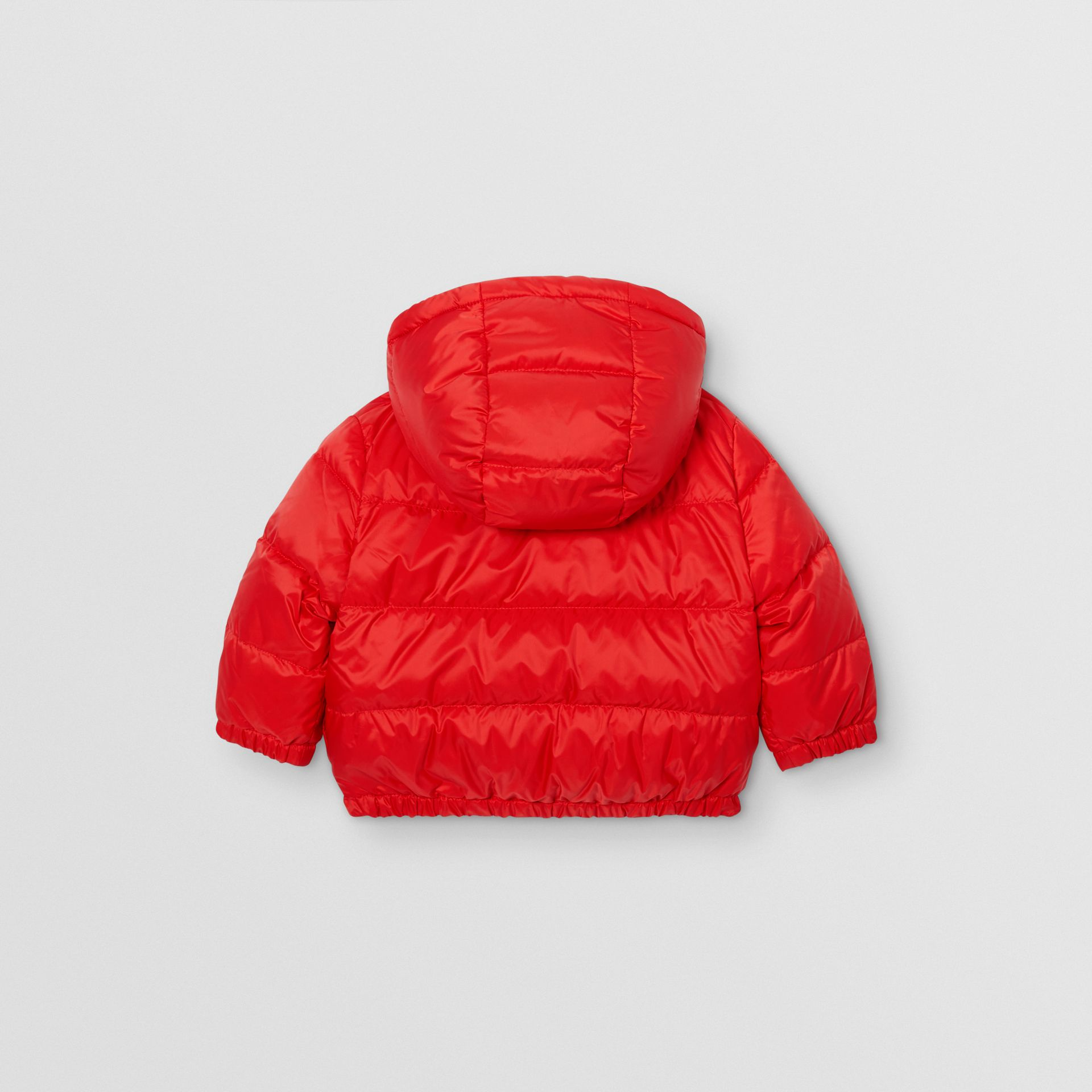 Reversible Vintage Check Down-filled Puffer Jacket in Bright Red - Children | Burberry - gallery image 5