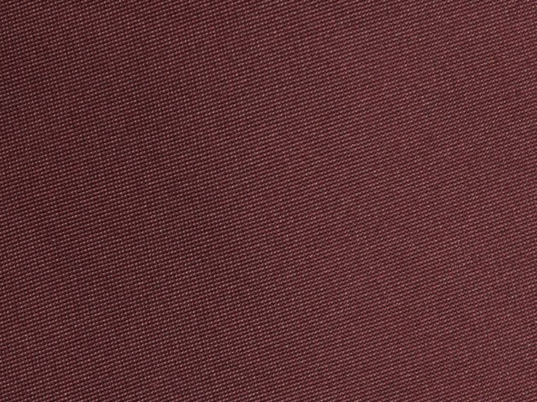 Dark burgundy Classic Cut Silk Tie - cell image 1