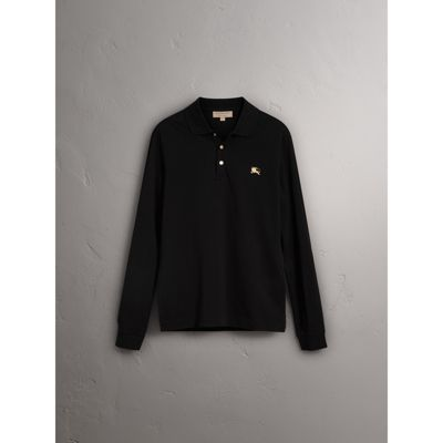 black and white burberry shirt