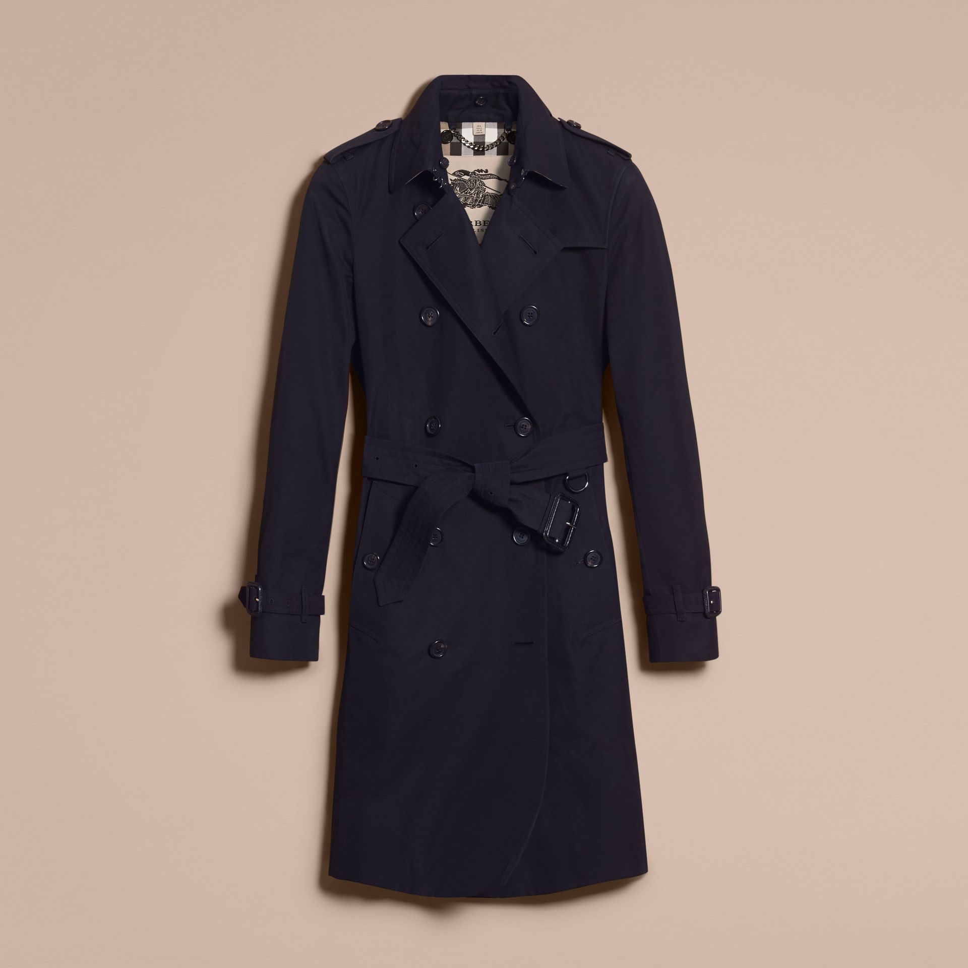 Marine The Kensington – Trench-coat Heritage long Marine - photo de la galerie 4