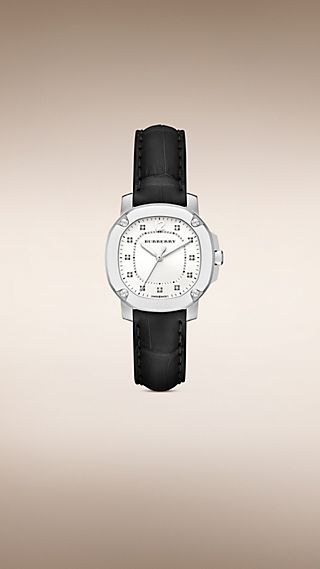 The Britain BBY1806 34 mm avec index diamantés