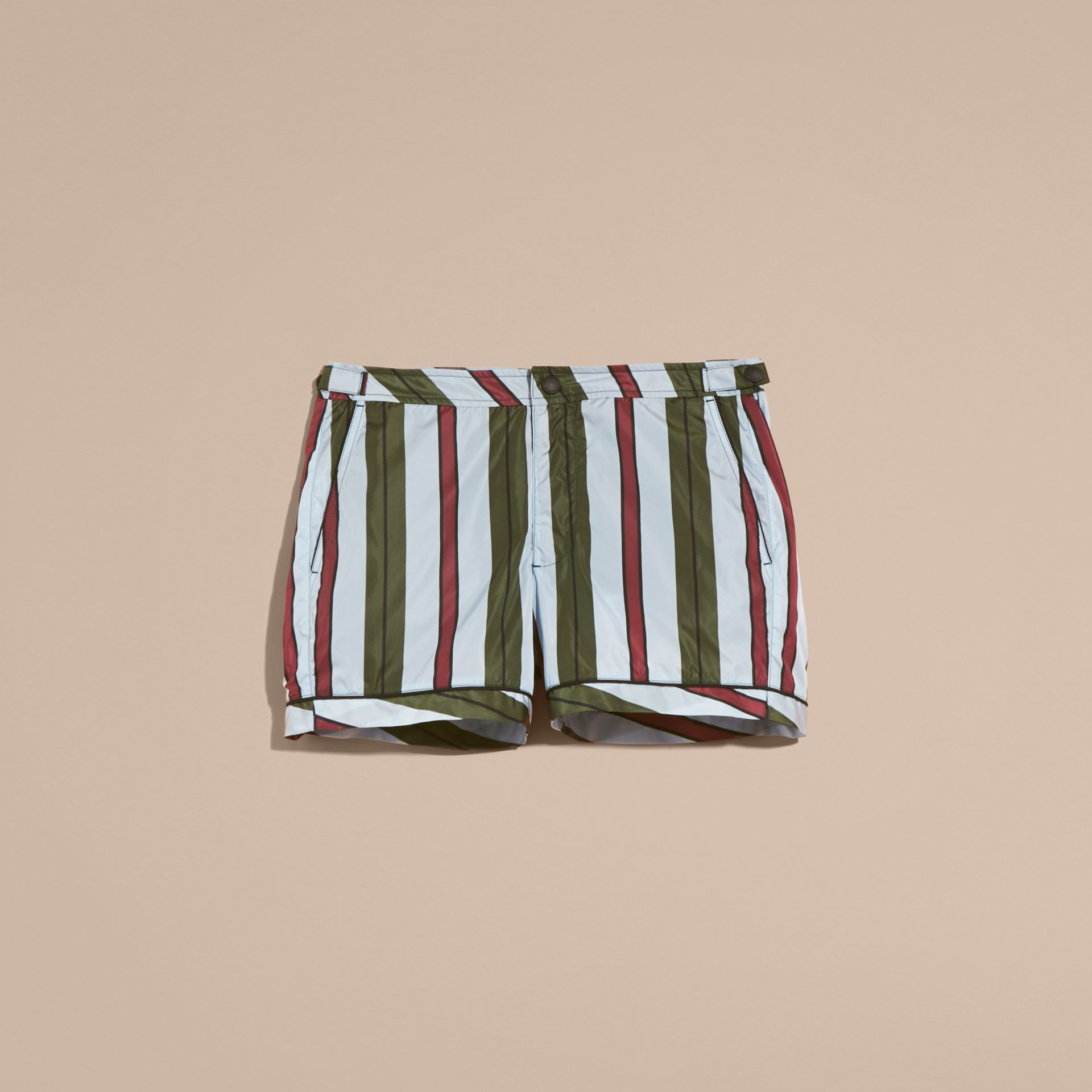 Pyjama Stripe Swim Shorts - gallery image 4