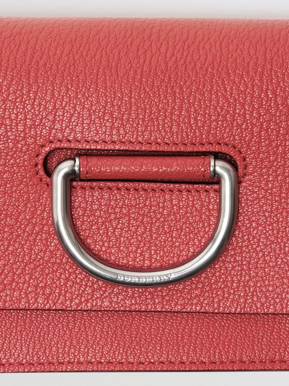 Borsa The D-ring mini in pelle (Rosa Corallo Brillante) - Donna | Burberry - cell image 1